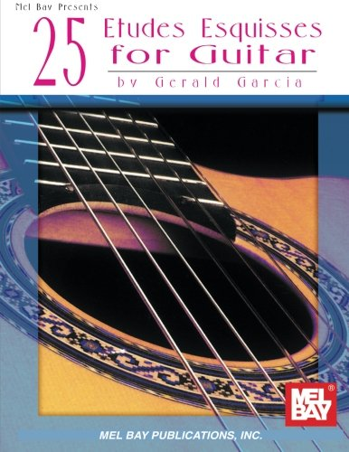 25 Etudes Esquisses for Guitar