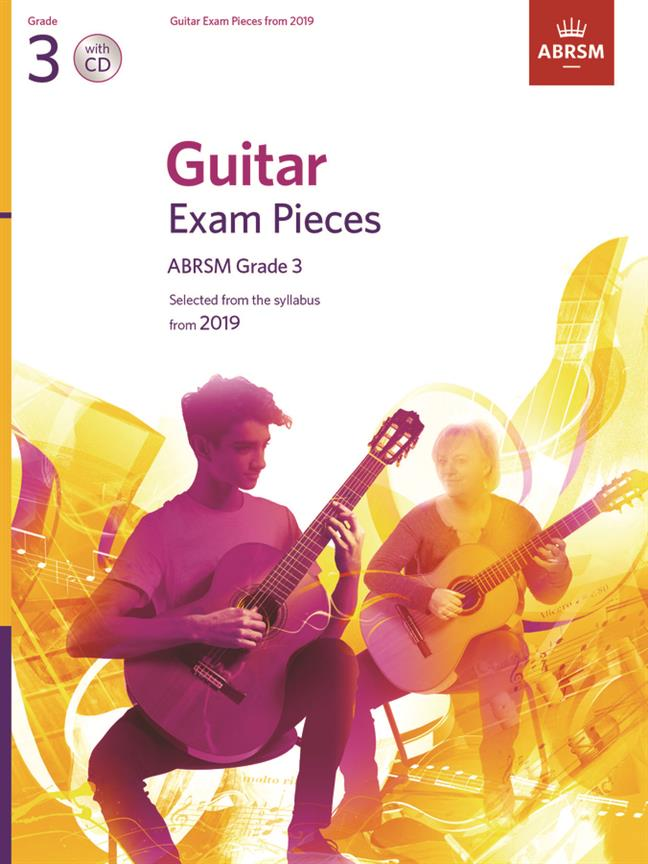 ABRSM Guitar Exam Pieces – Grade 3