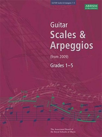 ABRSM Guitar Scales and Arpeggios2009