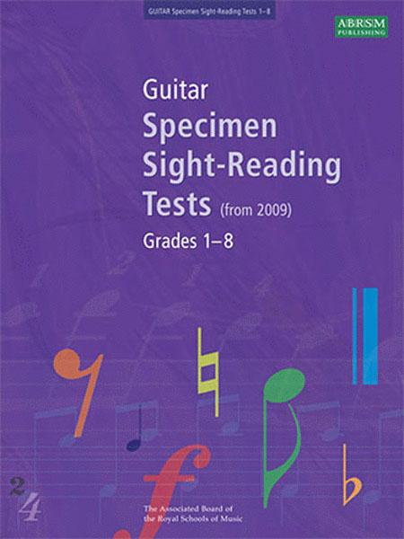 ABRSM Guitar Specimen Sight-Reading Tests (From 2009) Grades 1-8