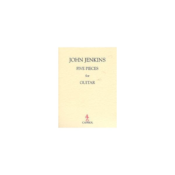 John Jenkins Five Pieces for Guitar