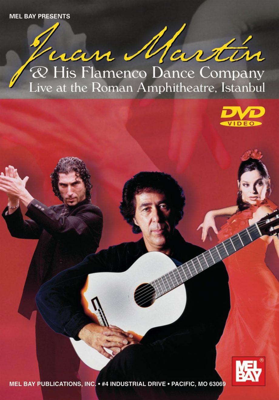 Juan Martin & His Flamenco Dance Company dvd