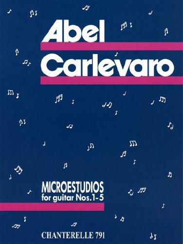 Microestudios for Guitar Nos. 1-5
