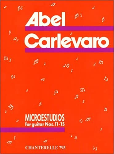 Microestudios for Guitar Nos. 11-15