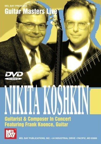 Nikita Koshkin in concert featuring Frank Koonce dvd