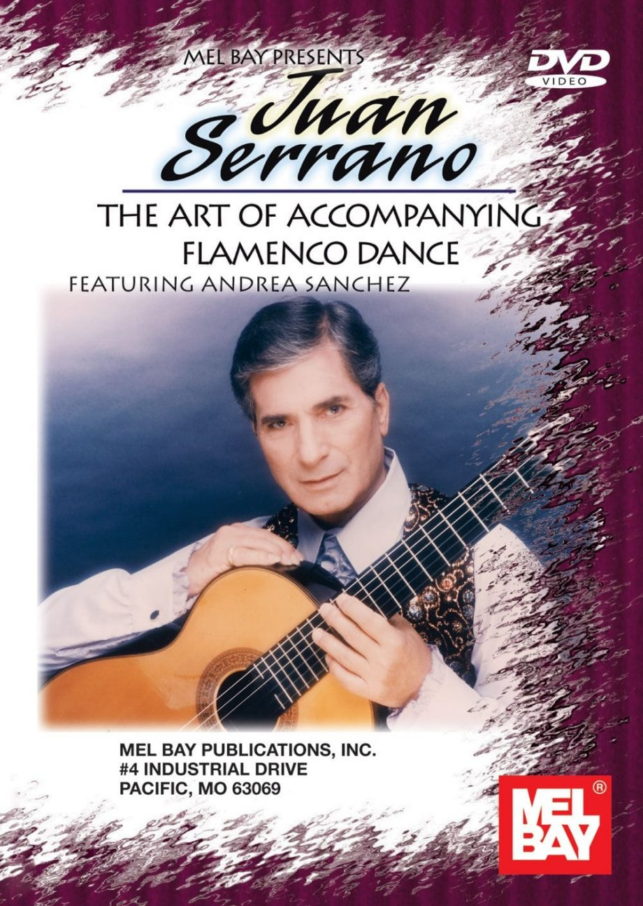 The Art Of Accompanying Flamenco Dance dvd