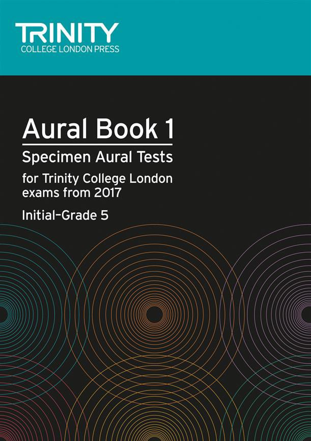 Trinity – Aural Book 1 – Specimen Aural Tests Initial to Grade 5
