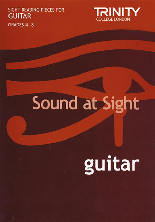 Trinity College London – Sound At Sight Grade 4-8 Guitar