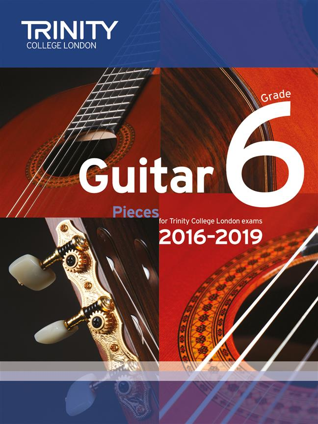 Trinity – Guitar Pieces – Grade Six