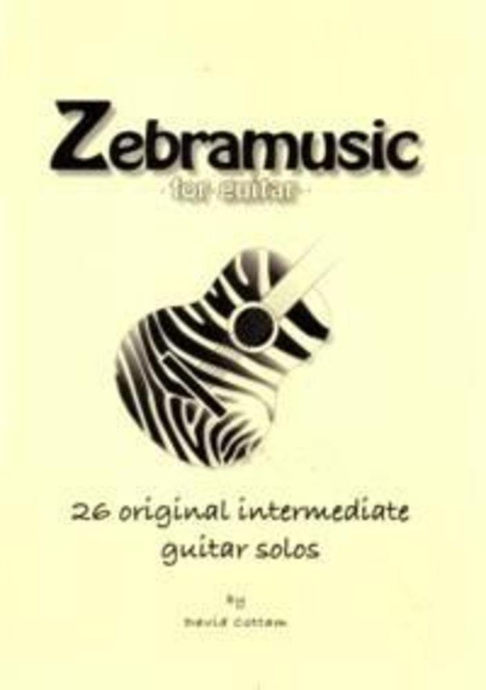 Zebramusic for Guitar – 26 Original Intermediate Guitar Solos